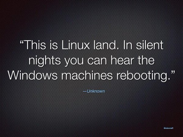 linux and friends